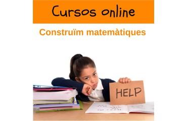 Cursos Online Construïm Matemàtiques